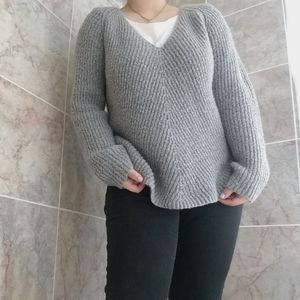 Women's JM Collection M Grey Sweater